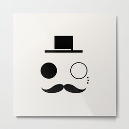 Sir Monical Metal Print