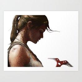 The Tomb Raider Art Print