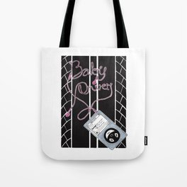 Baby Driver  Alternative Movie Poster Tote Bag