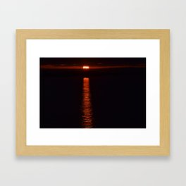 Path to Sunshine 2 Framed Art Print