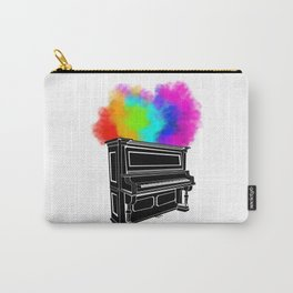 PIANO RAINBOW Carry-All Pouch