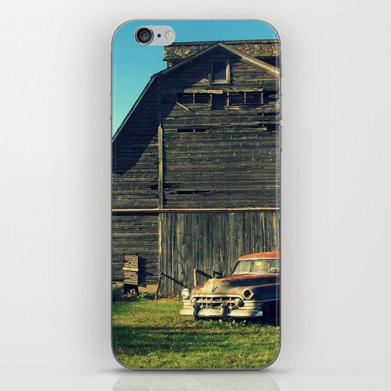 Caddie and Barn iPhone & iPod Skin