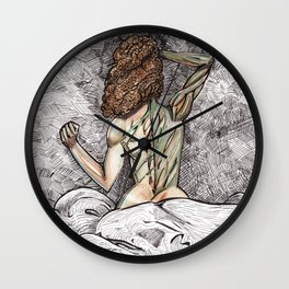She Is Nature Wall Clock
