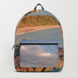 Whistling Sands at Dusk Backpack