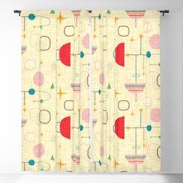 Atomic pattern umbrellas   #midcenturymodern Blackout Curtain