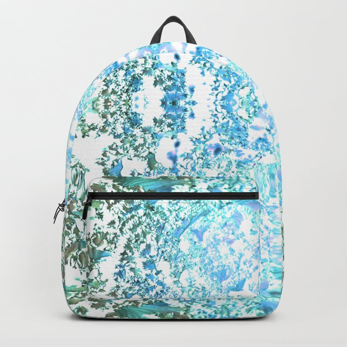 Pattern 20 Shades of blue Backpack