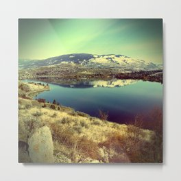 The Lake Metal Print