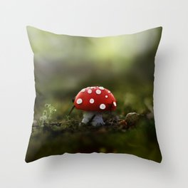 the real world Throw Pillow