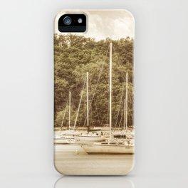 Smooth Sailing - Nostalgic iPhone Case