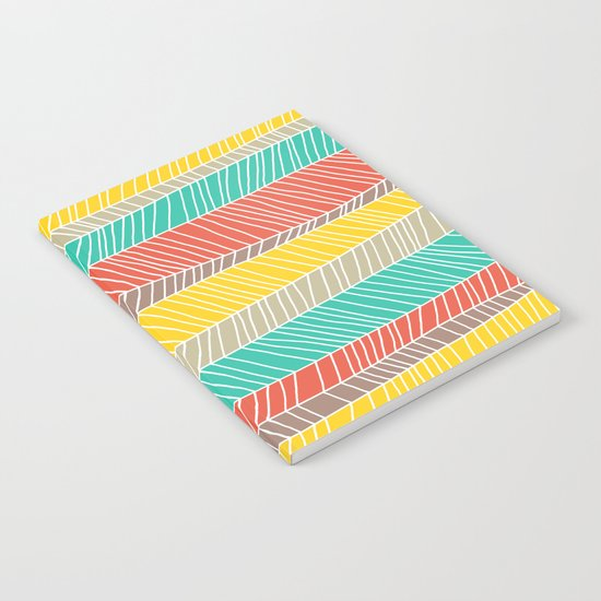Beach Stripe (warm) Notebook