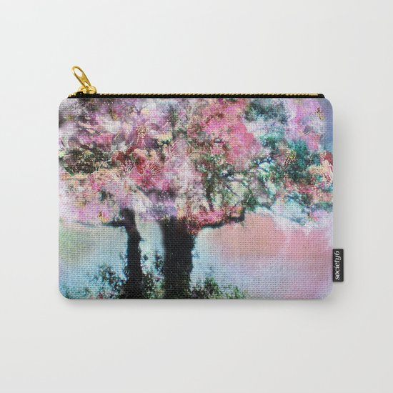 Cherry Blossom Trees Carry-All Pouch