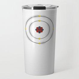 6 Carbon - Atomic Poster Travel Mug