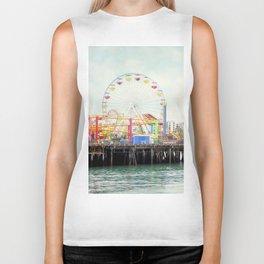 Santa Monica Pier Biker Tank