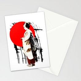 Kyotogirl2 Stationery Cards