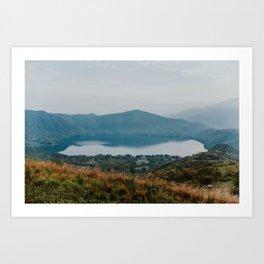 Santa Maria Del Oro, Nayarit Photo Print Art Print