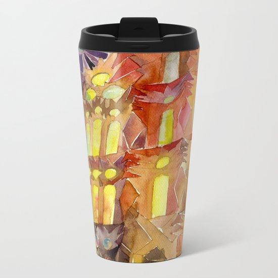 Sagrada Familia Metal Travel Mug