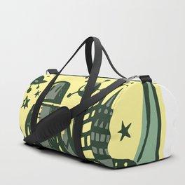 Retro World Duffle Bag