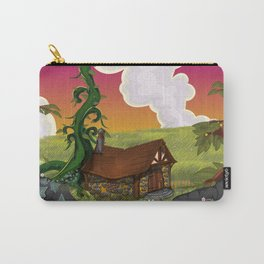 Jack and the Beanstalk Cottage in the evening Carry-All Pouch