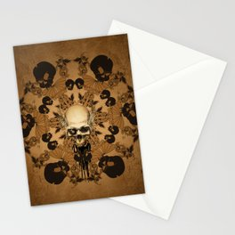 Awesome skull Stationery Cards