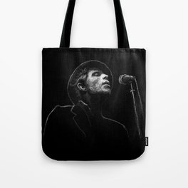 Tom Waits (scribble style) Tote Bag