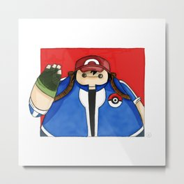 What if Baymax was Ash (color) Metal Print