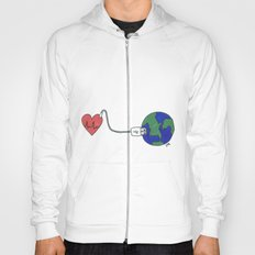World and Love Hoody