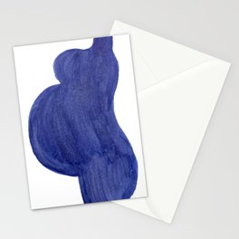 Purple Mama Ink Painting 1 Stationery Cards