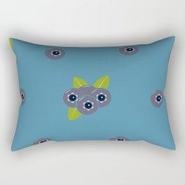 Blueberries Rectangular Pillow