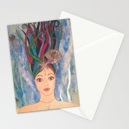 Daughter of the Deep Stationery Cards