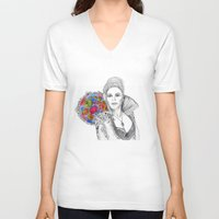 once upon a  time V-neck T-shirts featuring Once upon a time... by Geek World