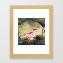 waste of hope Framed Art Print