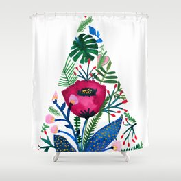 Inside the mind of a botanist Shower Curtain