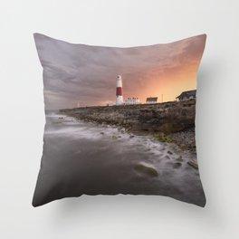 Storm Light Throw Pillow