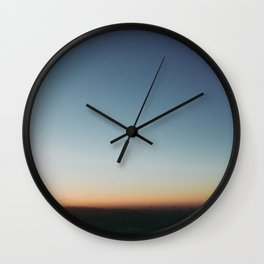 Sunrise in Hollywood Wall Clock
