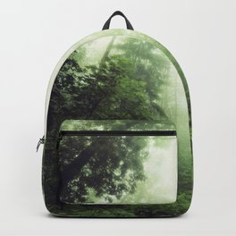 German Jungle - Forest in Morning Mist Backpack