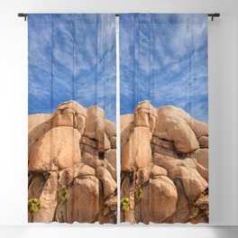 Joshua Tree Rocks Blackout Curtain