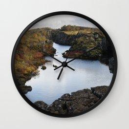 Halcyon Still Wall Clock