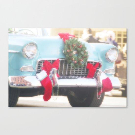 Holiday Cruisin' Canvas Print