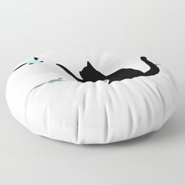 Cat and Navi Floor Pillow