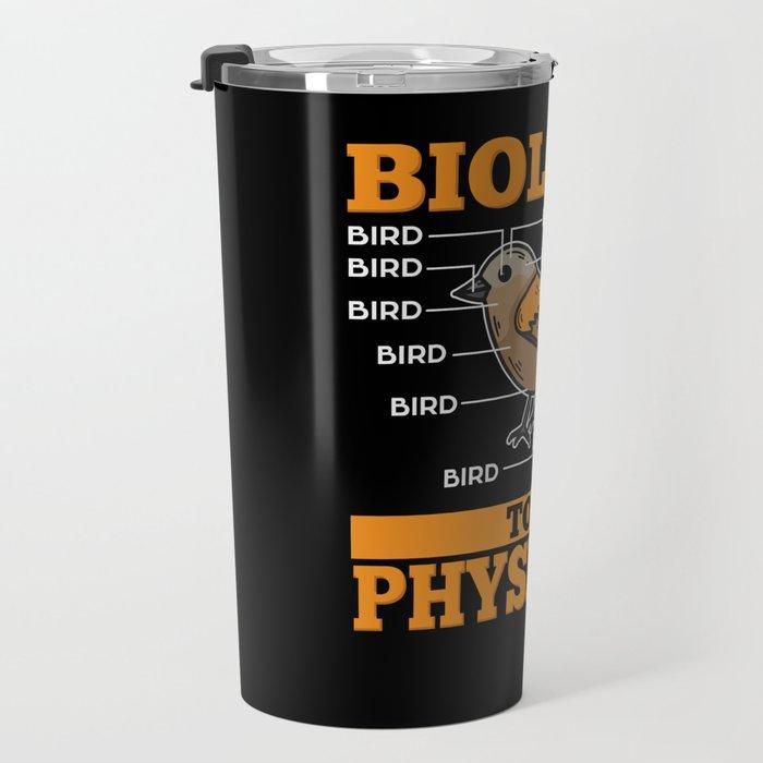 Biology Teacher T-Shirt science geek Travel Mug