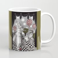 concert Mugs featuring Alice's After Tea Concert by Judith Clay