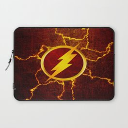 Flash With Lightning Laptop Sleeve