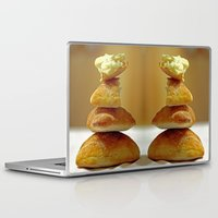 bread Laptop & iPad Skins featuring Zen Bread by Joe Pansa