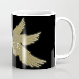 Lucifer with Wings Light Coffee Mug