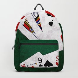 Poker Hand Two Pair King Nine Five Backpack