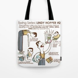 SWING SERIES: LINDY HOPPER #2 Tote Bag