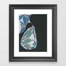 Apartment Pear #9 Framed Art Print