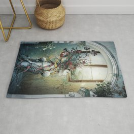 Life in Death Rug