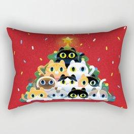 Meow Christmas Rectangular Pillow
