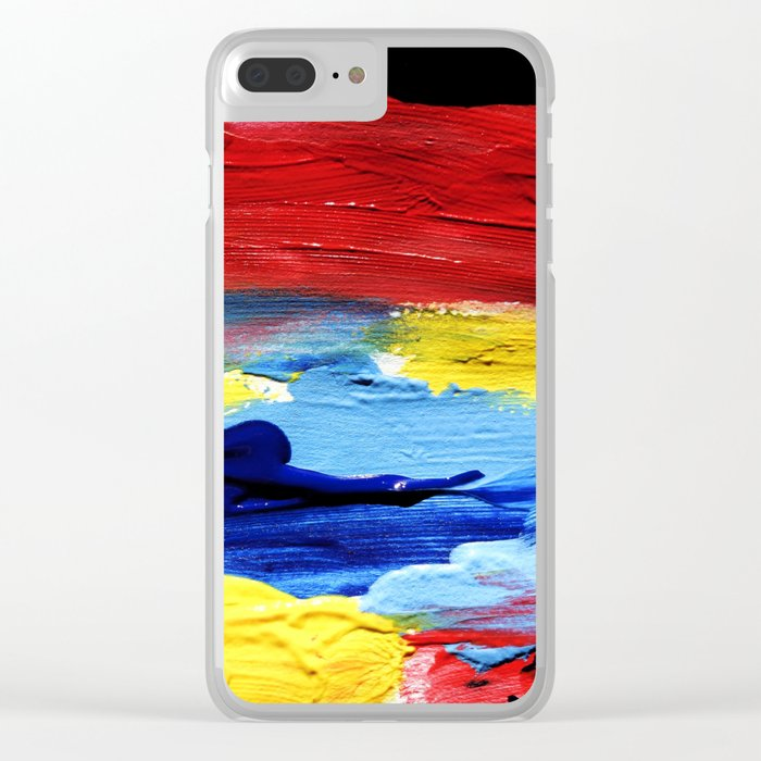 HELIOS Clear iPhone Case